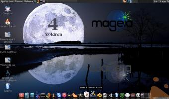 Magia 4 COldron con Mate e OSX-Nostalgie Icon set